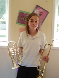 Alice - cornet and bugle