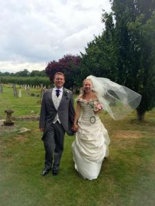 Ian & Fran Barlows' wedding