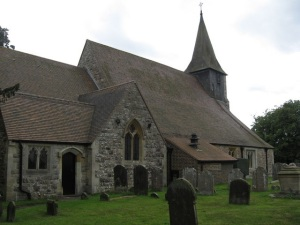 St Mary the Virgin church Horne
