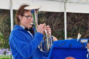 Megan playing